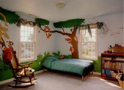 Zoo w pokoju dziecka