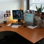 Ergonomiczne biurko zapewnia komfort pracy